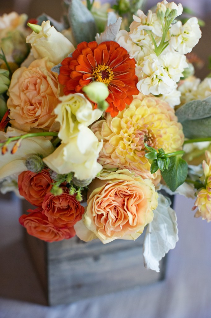 Rustic Yellow And Orange Summer Wedding Blush Floral Design