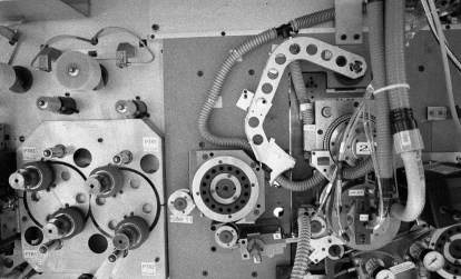 "35mm perforation machine called ""The Heart"" (TMAX P3200)"