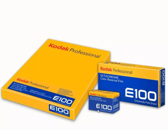 Kodak Professional EKTACHROME E100 in 120 and 4×5 Released