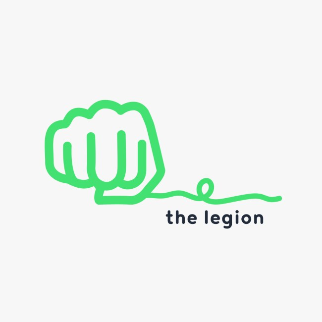 iAdvize logo the Legion
