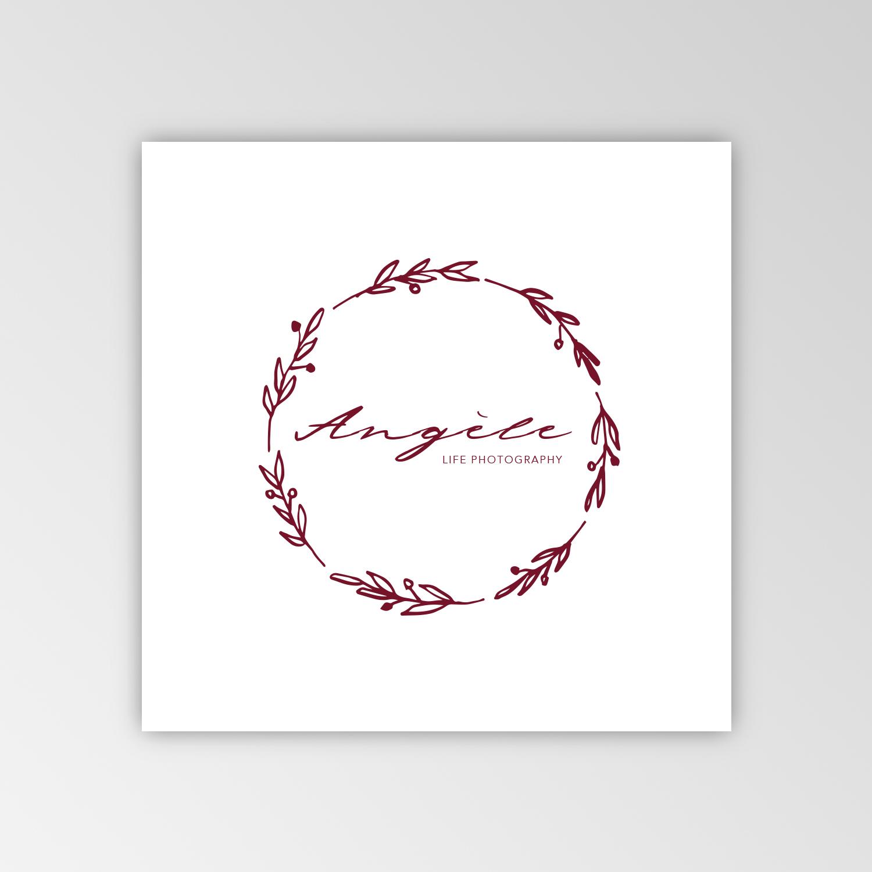 Logo Angèle Photographie proposition graphique 3