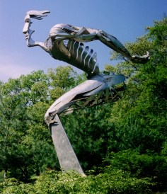 """Mind as Body"" Stainless, 16'"