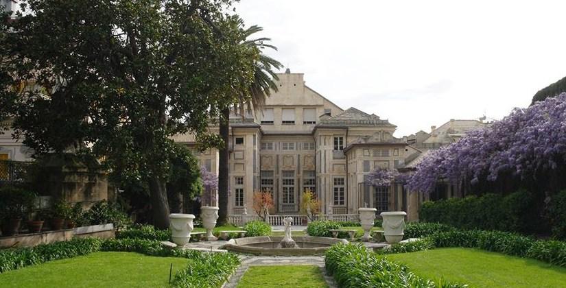 Palazzo Lomellino_Giardino con Glicine Rolli Days Notte dei Musei