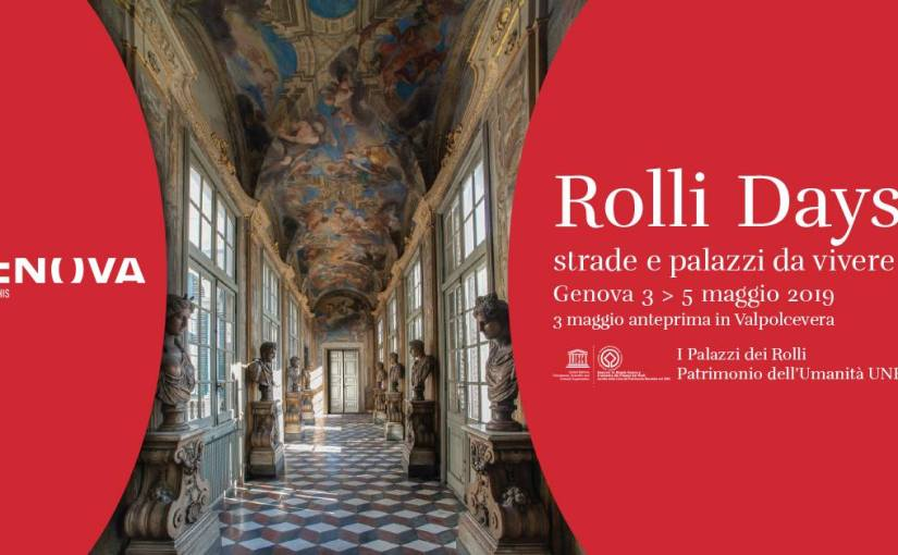 Palazzo Nicolosio Lomellino partecipa ai Rolli Days