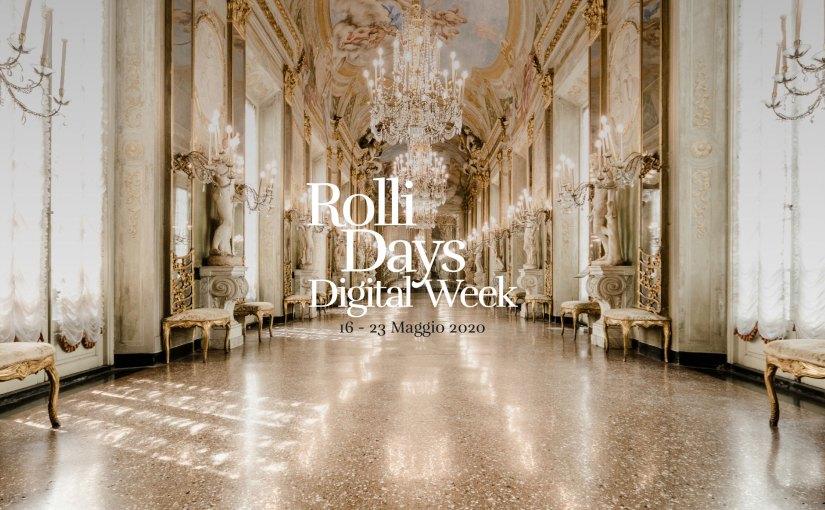 Palazzo Nicolosio Lomellino Rolli Digital Week 2020