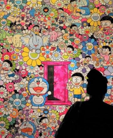 Doraemon, parfait pour Takeshi Murakami.
