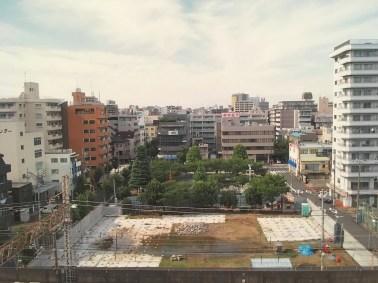 Le site en construction