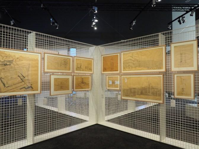 Georges-Henri Pingusson - Scénographie de l'exposition à la Cité de l'Architecture