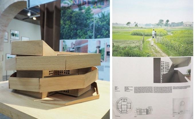 Projet abri anticyclone et école primaire