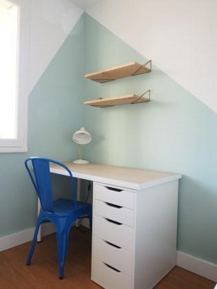 nouvelle chambre et son bureau