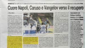 Napoli basket Caruso e Vangelov verso il recupero grazie allo Studio Delos fisioterapia
