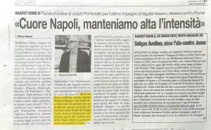 Ottime le cure dello Studio Delos fisioterapia per Roberto Maggio capitano del Napoli basket