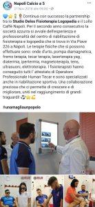 Stagione 2018/19 rinnovata la partnership Studio Delos Fisioterapia - Napoli c5