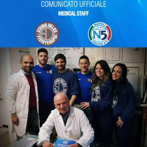 Studio Delos Fisioterapia medical stagg Napoli calcio5