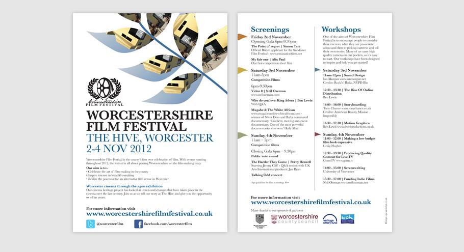 worcestershire film festival 2012 programme