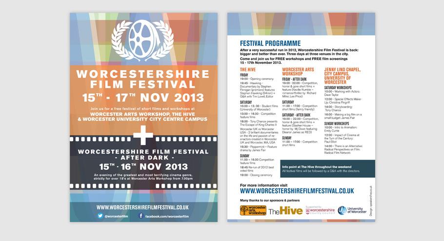 worcestershire film festival 2013 programme