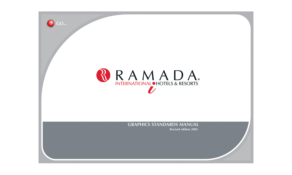 Cover of Ramada Graphic Standards manual