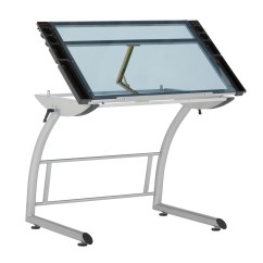 Drafting Table Chair Height Martha Stewart Patio Chairs Triflex Drawing