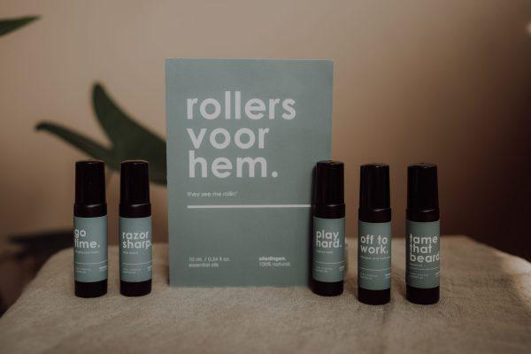 Aesthetic brush studio dinges carlyne fotografie sticker oliedingen giftbox mannen