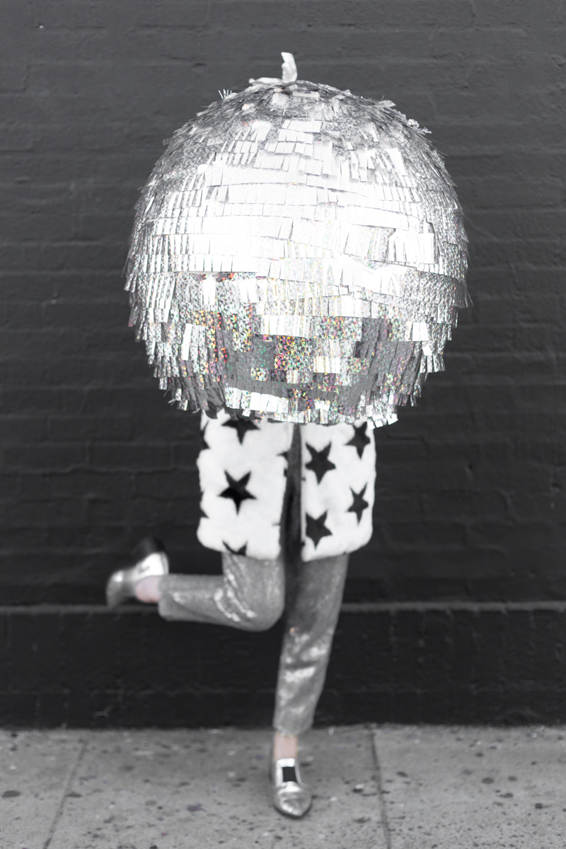 DIY Disco Ball Piata Studio DIY