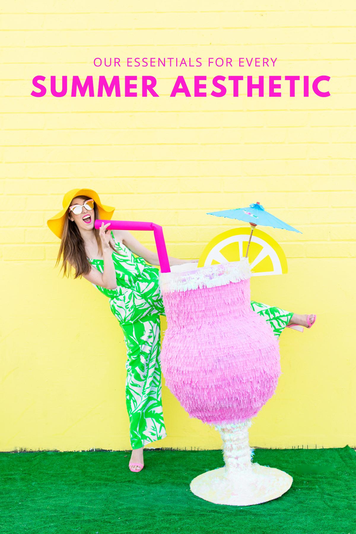 Whats Your Summer Aesthetic Studio DIY