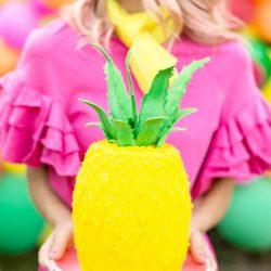 DIY Pineapple Cake Studio DIY
