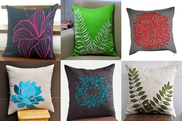 Design of Handmade Pillow Cover