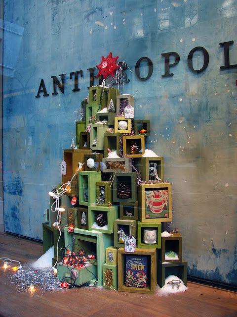 escaparates de navidad muy originales y atrayentes