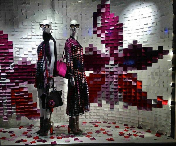 Escaparatismo creativo y original para sorprender en espacios comerciales