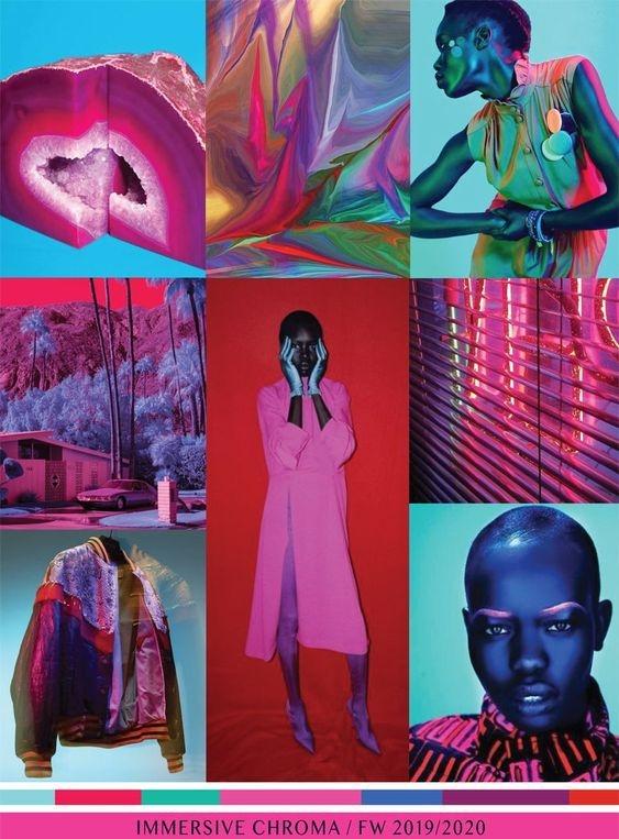 Nuevas texturas y formas de combinar los colores en estos paneles de inspiración