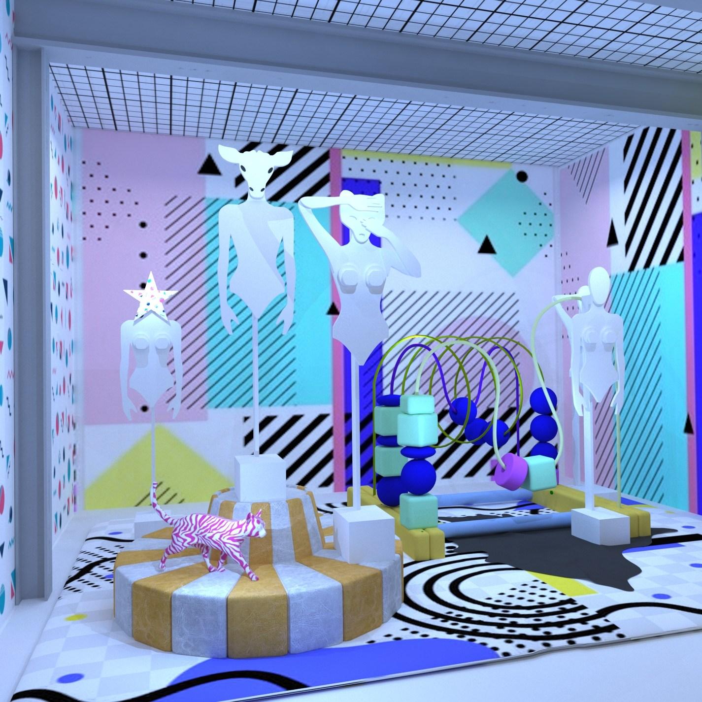 Diseño de Escaparate, showroom, pop up store, espacios de venta singulares