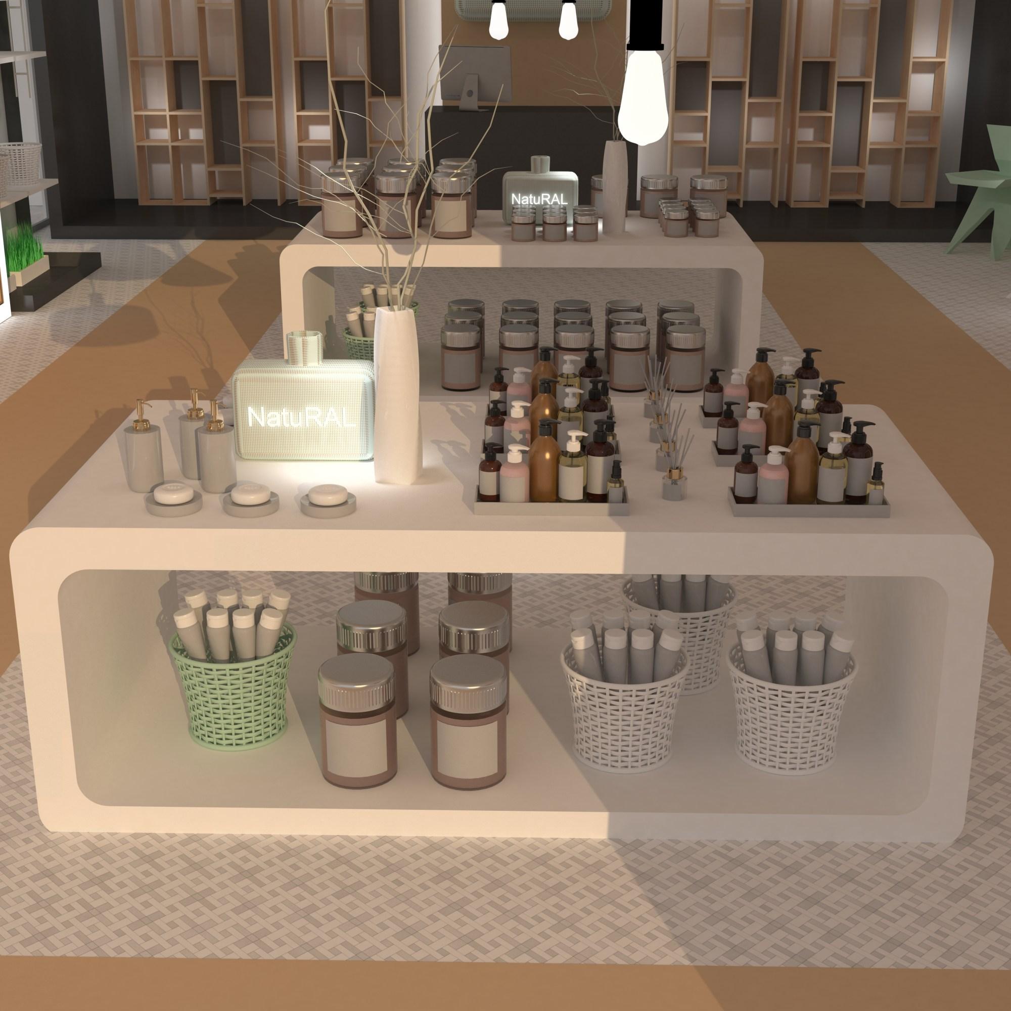 Diseño de establecimientos - Diseño de farmacias - escaparatismo y merchandising