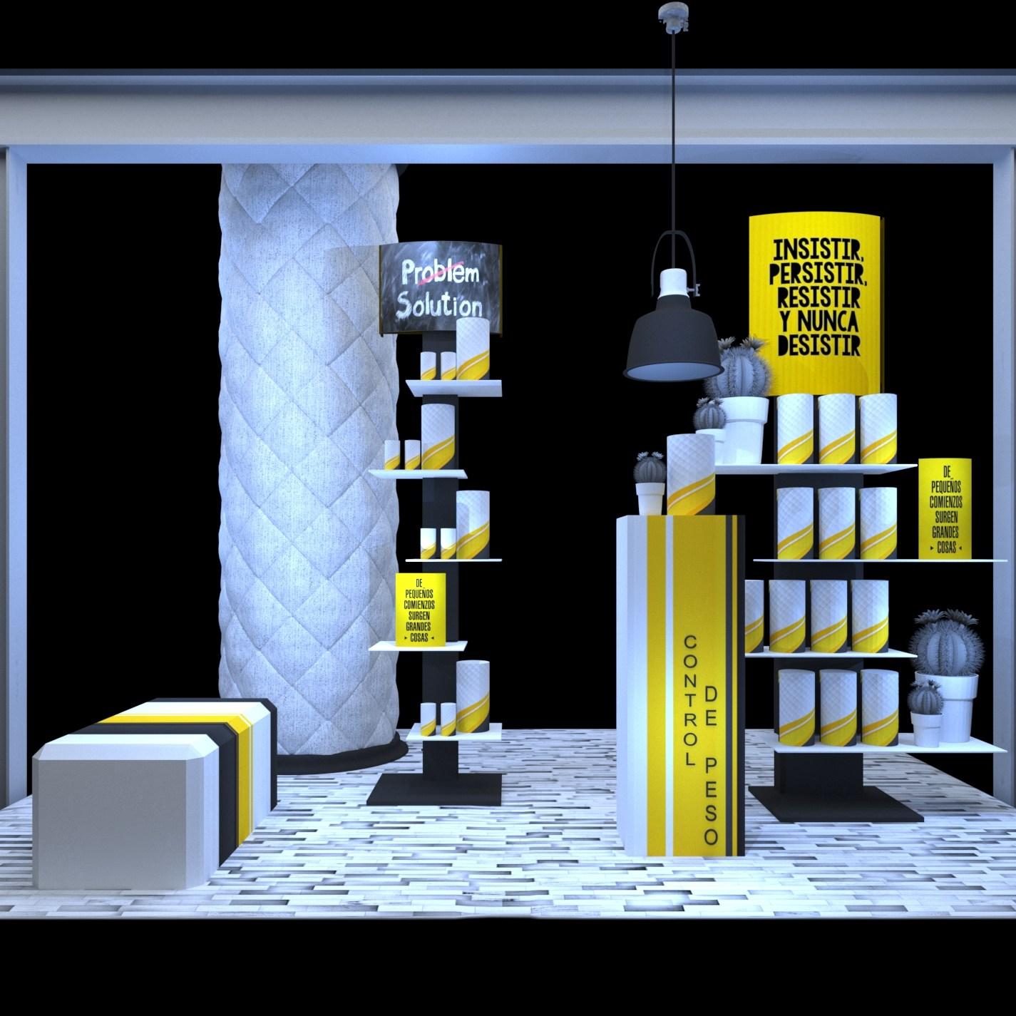 Exposiciones para farmacias.