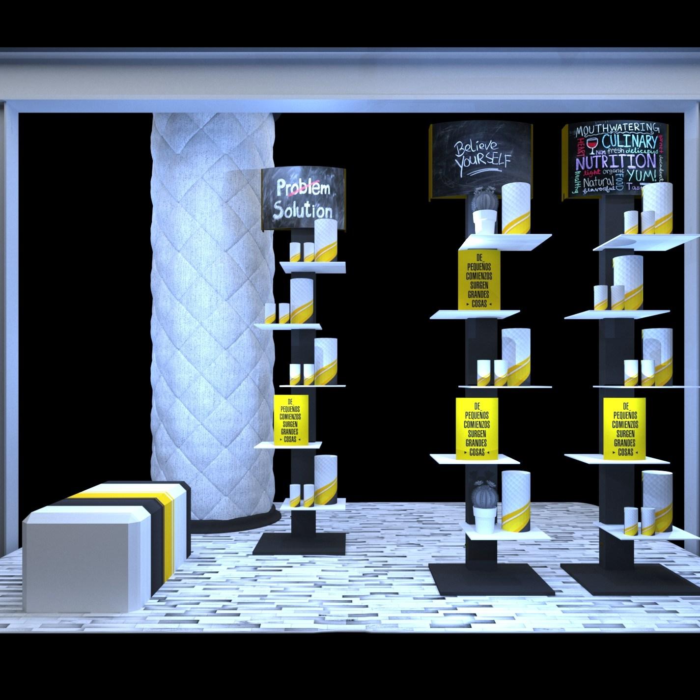 Mobiliario para farmacia.