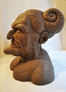 Grotesque Head V b LR