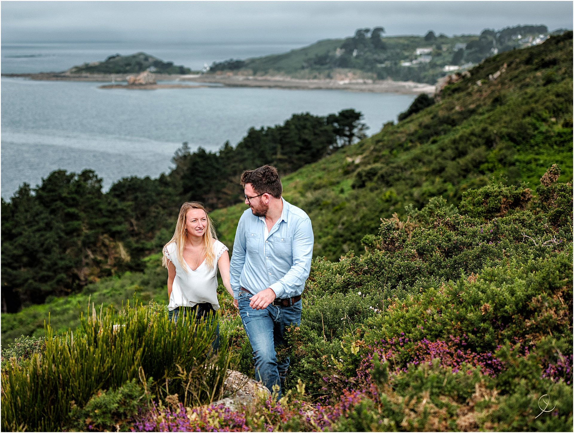 Photographe couple bord de mer