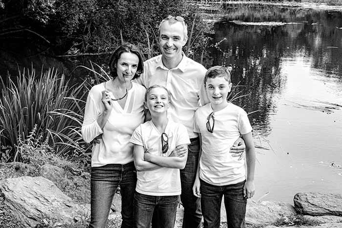 Photographie famille Studio Faucher Janzé