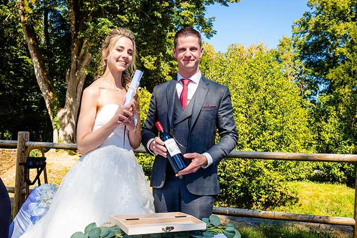 mariés échange des voeux