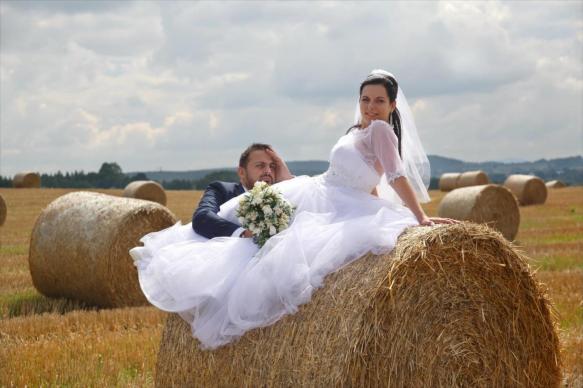 Sesja ślubna na belach