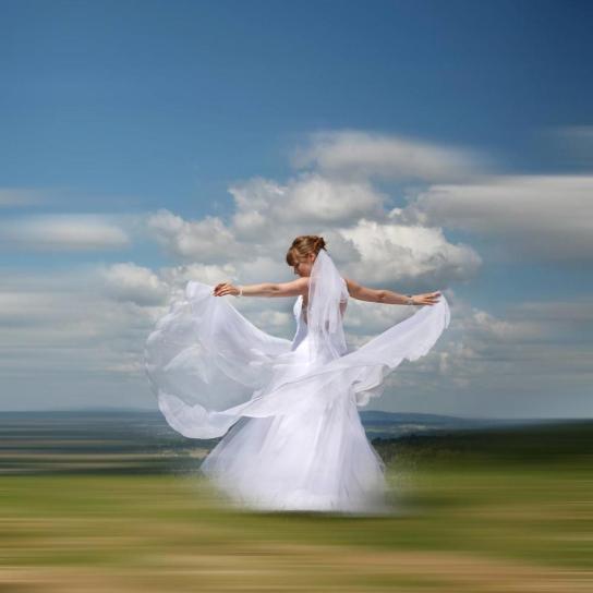 Tańcząca Pani Młoda