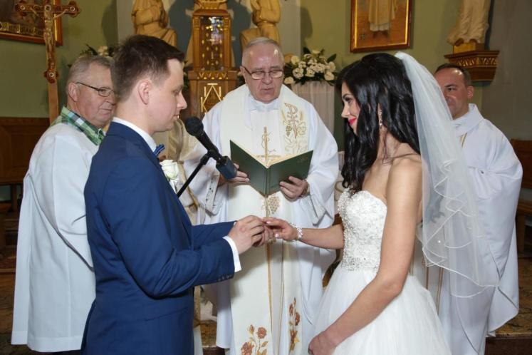 Przysięga małżeńska w kościele