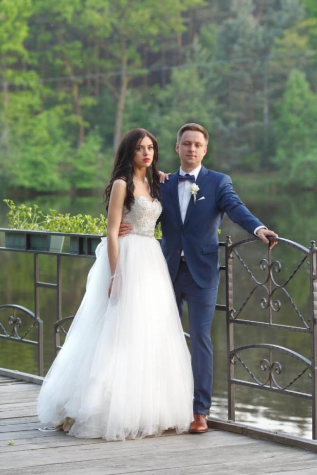Reportaż ślubny nad jeziorem