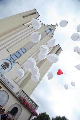 Weselne balony