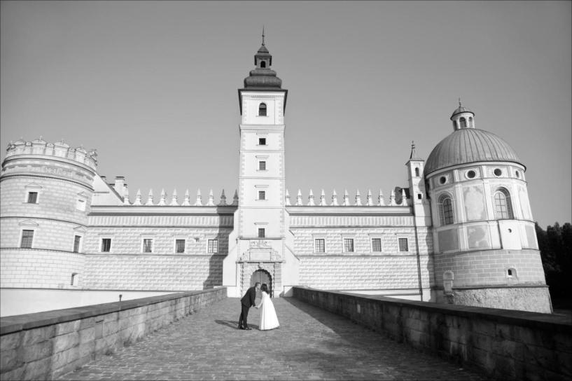 PLener na zamku w Krasiczynie Andżeliki i Andrzeja