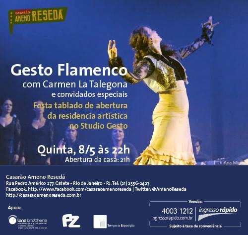 gesto flamenco