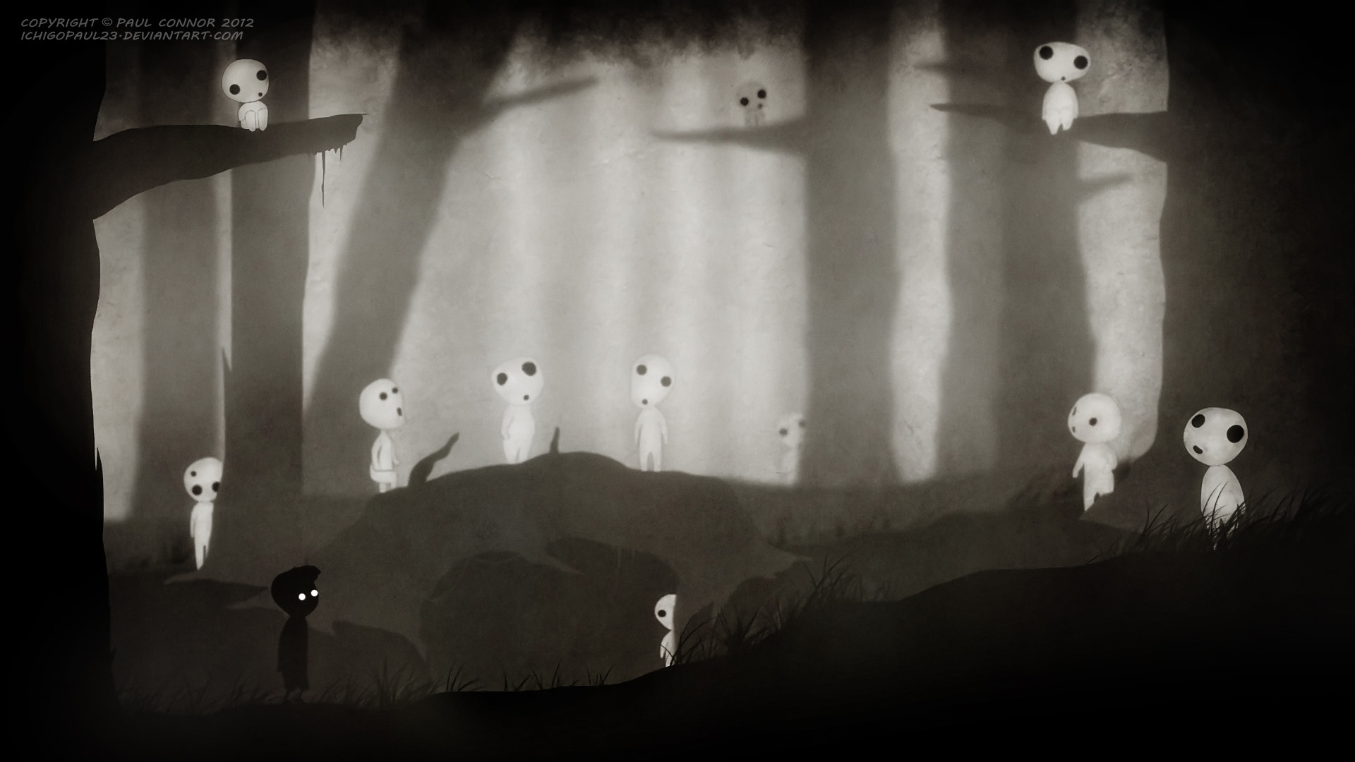 New Latest Quotes Wallpaper Collection Of Limbo Inspired Studio Ghibli Wallpapers