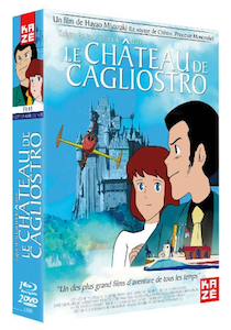 Ghibli Lupin - portada le château de cagliostro - francia