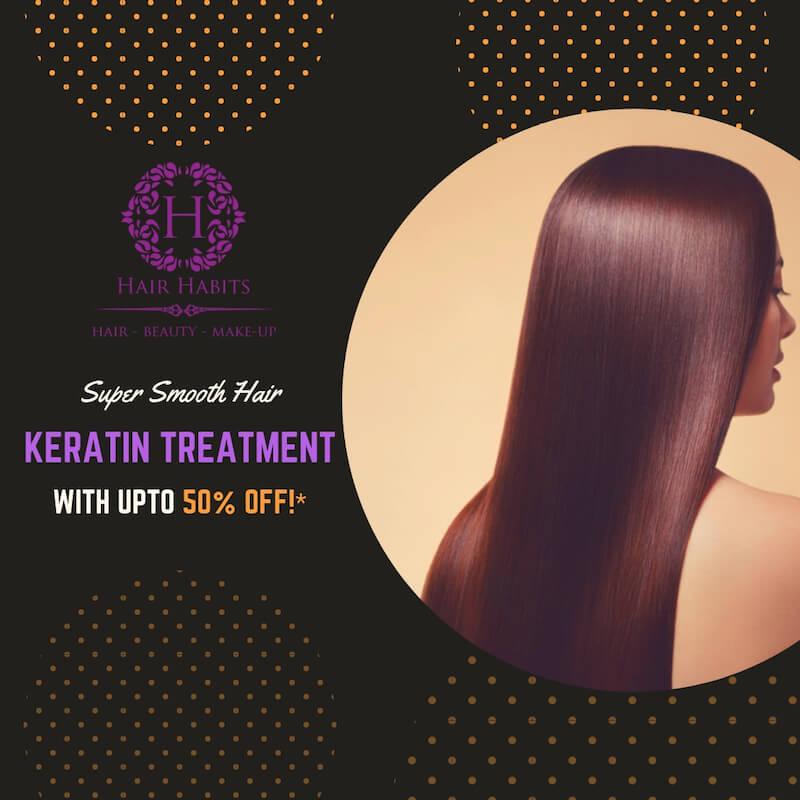 hair keratin treatment offer Nagpur