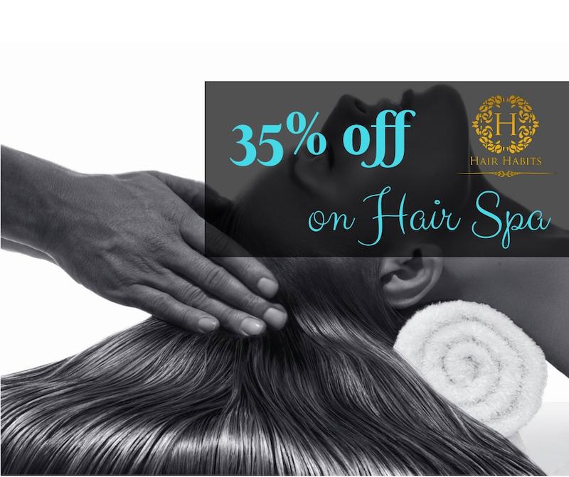 hair spa offer nagpur salon hair habits