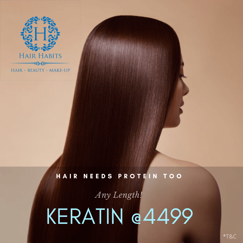 keratin hair treatment offer NAgpur salon